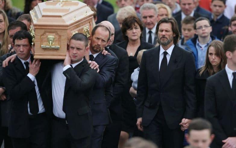 Jim Carrey, à Cappawhite en Irlande - Crédit Photo: SIPA
