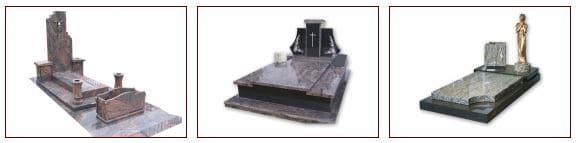 monument funéraire mixte