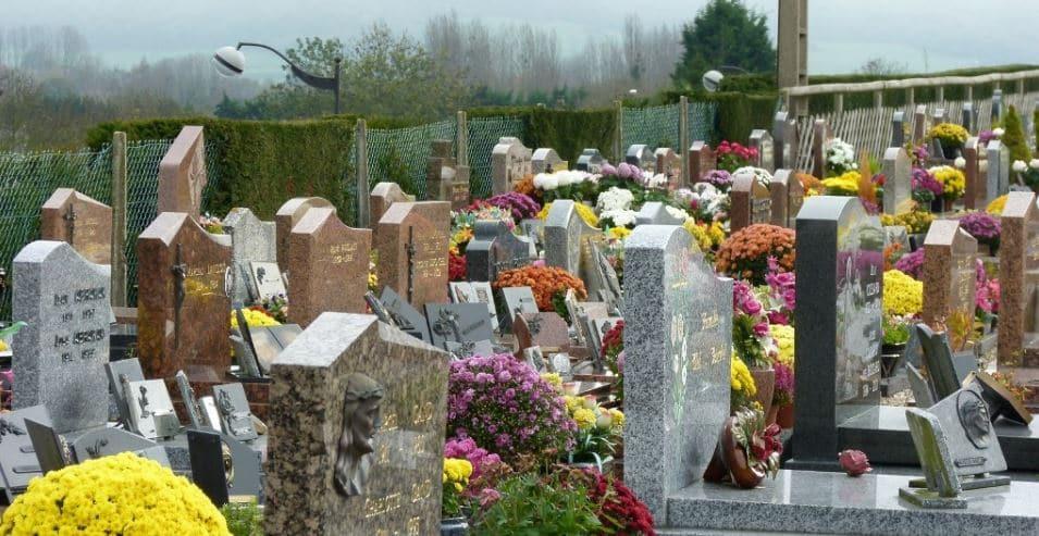 emplacement gratuit cimetière