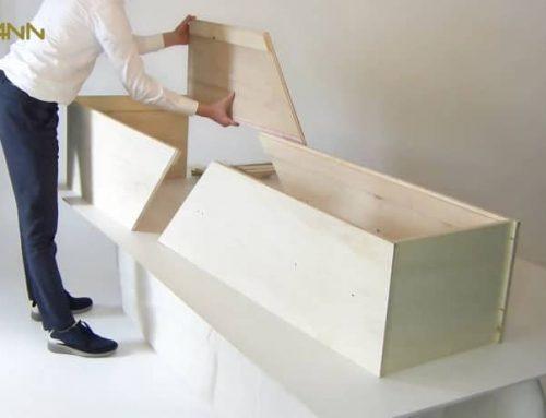 Chistann : un cercueil livré chez soi et à monter soi-même