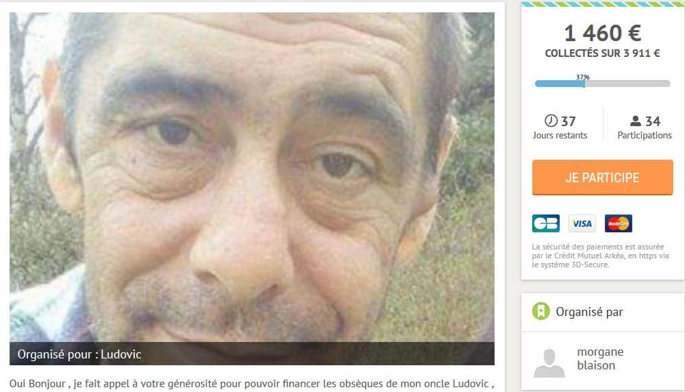 Dijon : les funérailles d'un SDF seront financées par une cagnotte Leetchi