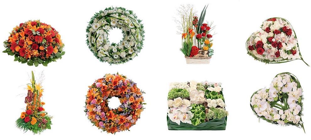 fleurs deuil fleurs enterrement bien choisir le bouquet fun raire. Black Bedroom Furniture Sets. Home Design Ideas