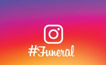 Instagram : un réseau social pour des funérailles branchées ?