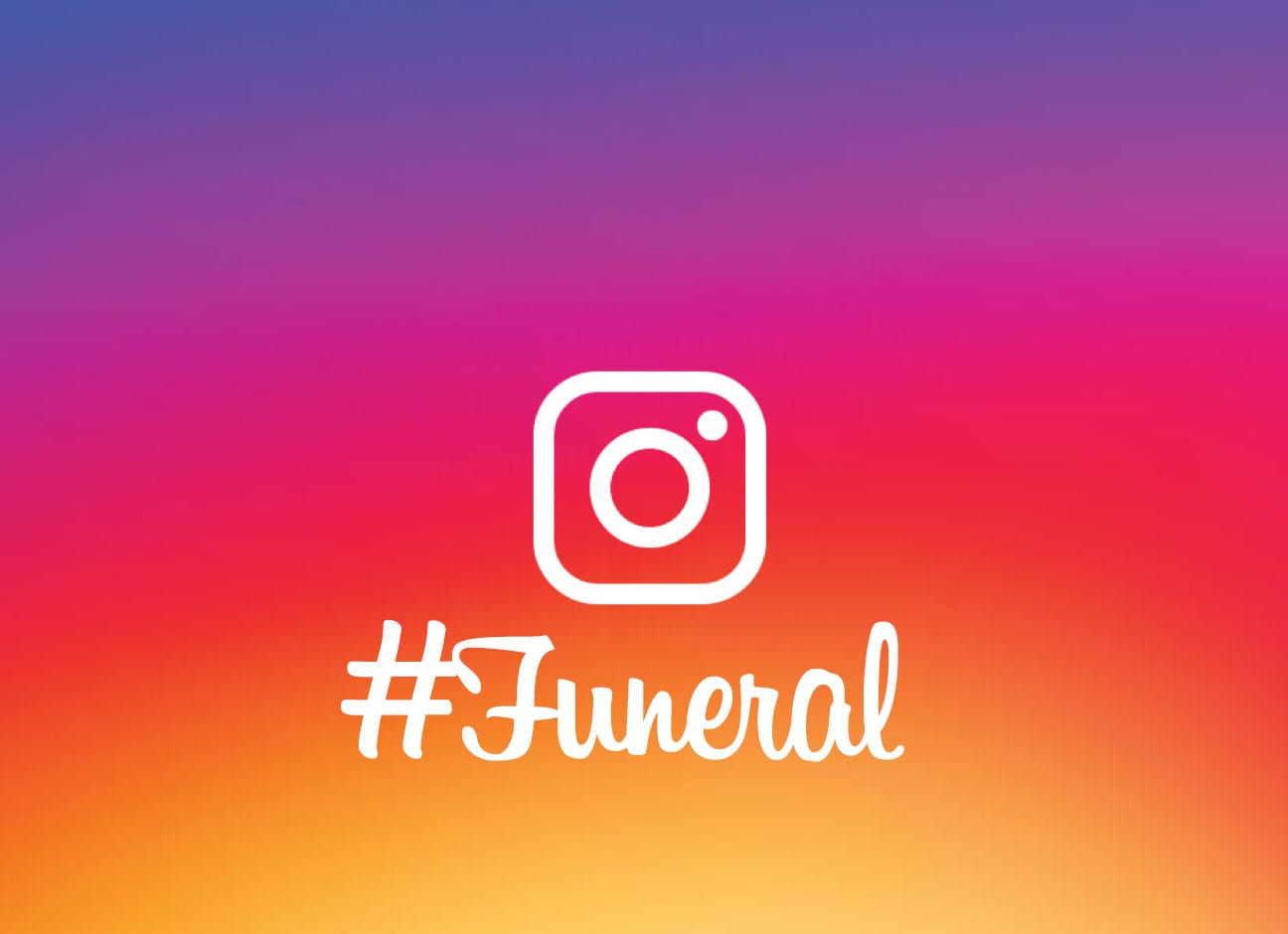 logo instagram funerailles