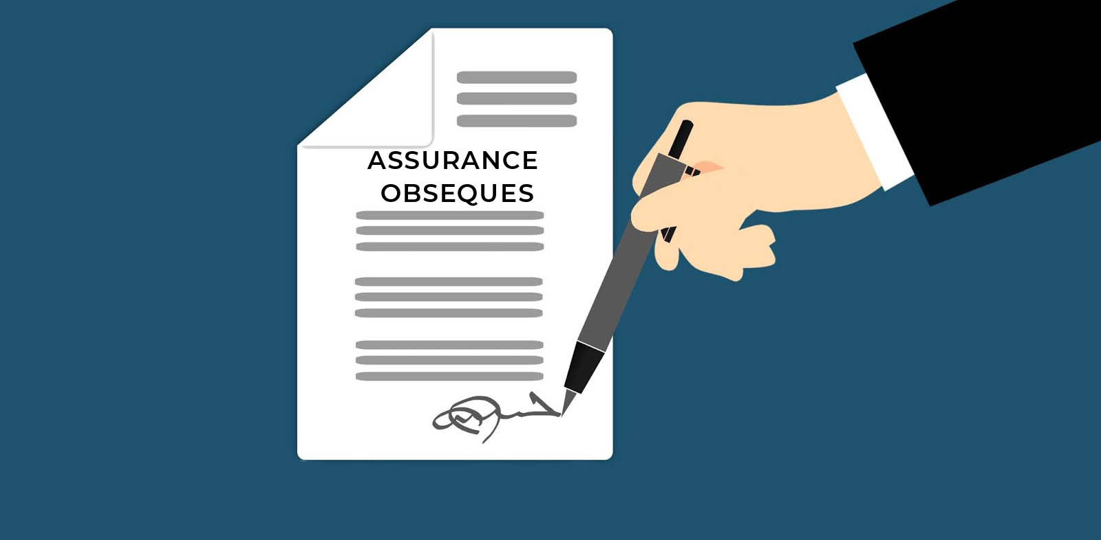 Signature Assurance Obseque Illustration