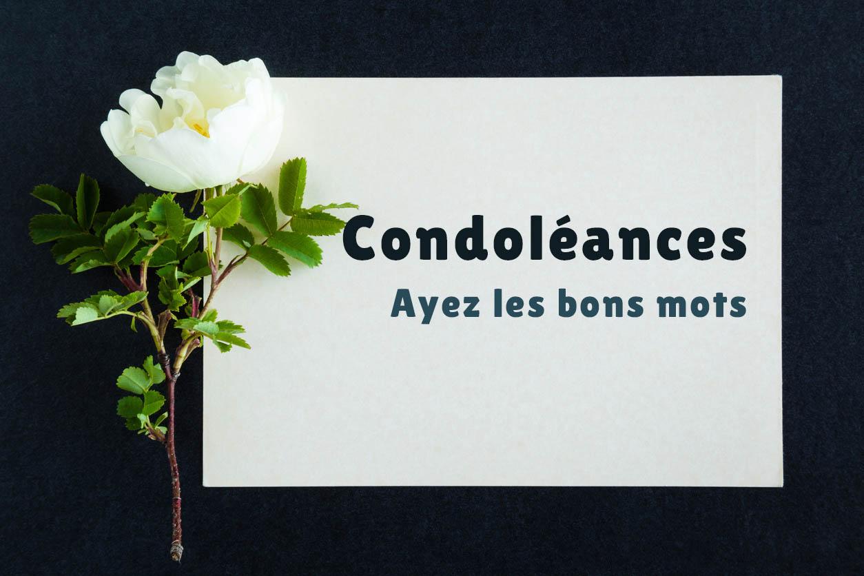 illustration lettre condoléances